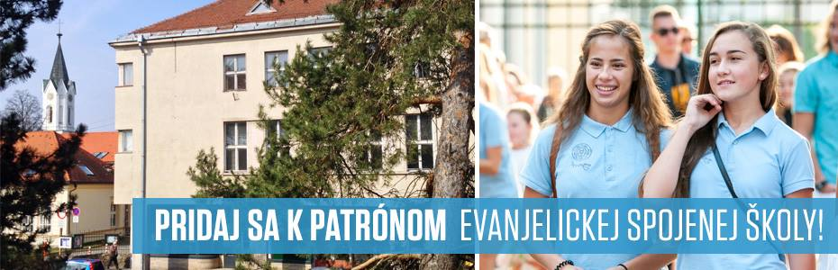 a296be629 Darujte kvalitné vzdelanie a staňte sa patrónom Evanjelickej spojenej školy!