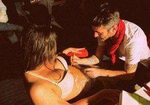Fotoreport: Body painting v martinskom Lounge