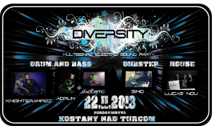 DIVERSITY / Multigenre Electro Sound Party